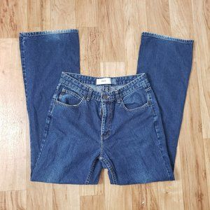 Gap Flare High Rise Dark Wash Jeans